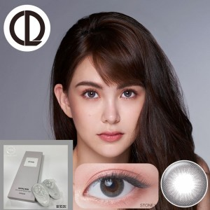 QUINLIVAN慕〈微美瞳〉彩色日拋隱形眼鏡【10片裝】6盒