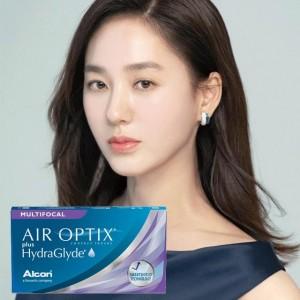 愛爾康AIR OPTIX〈舒視氧〉親水聚合老花月拋隱形眼鏡【3片裝】6盒加送6片