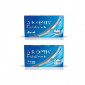 愛爾康AIR OPTIX〈舒視氧〉親水聚合月拋【3片裝】2盒