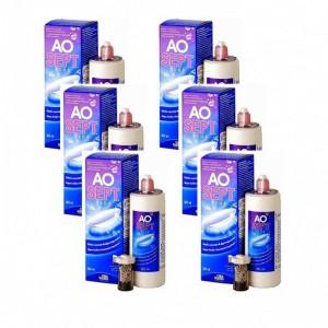 愛爾康AO雙氧保養液【360ML】6瓶組