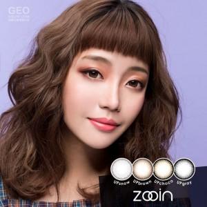 GEO〈ZOOIN〉彩色季拋隱形眼鏡【1片瓶裝】2瓶