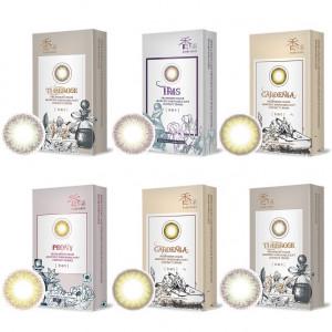 晶碩〈KAORI香水〉彩色月拋隱形眼鏡【3片裝】6盒