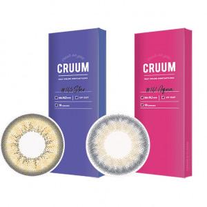 晶碩〈CRUUM〉彩色日拋【10片裝】2盒