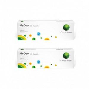 酷柏〈MyDay® 美怡天〉矽水膠日拋【30片裝】2盒