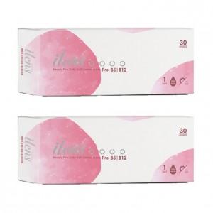 愛能視〈水氛美〉日拋軟性隱形眼鏡【30片裝】2盒