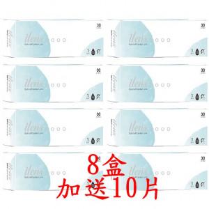 愛能視日拋軟性隱形眼鏡【30片裝】8盒組