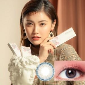 美若康〈心動〉矽水膠彩色日拋隱形眼鏡【10片裝】2盒