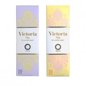 CandyMagic〈Victoria系列〉彩色日拋隱形眼鏡【10片裝】2盒