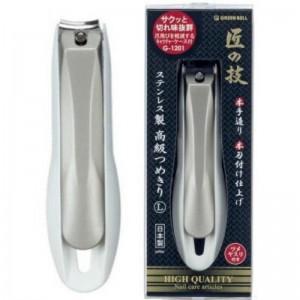 【匠之技G-1201 高硬度淬火指甲剪L號】日本製