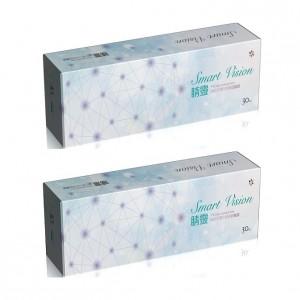視茂睛靈〈水藍〉日拋隱形眼鏡 【30片裝】2盒